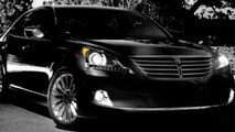 2014 Hyundai Equus teaser photo (enhanced)