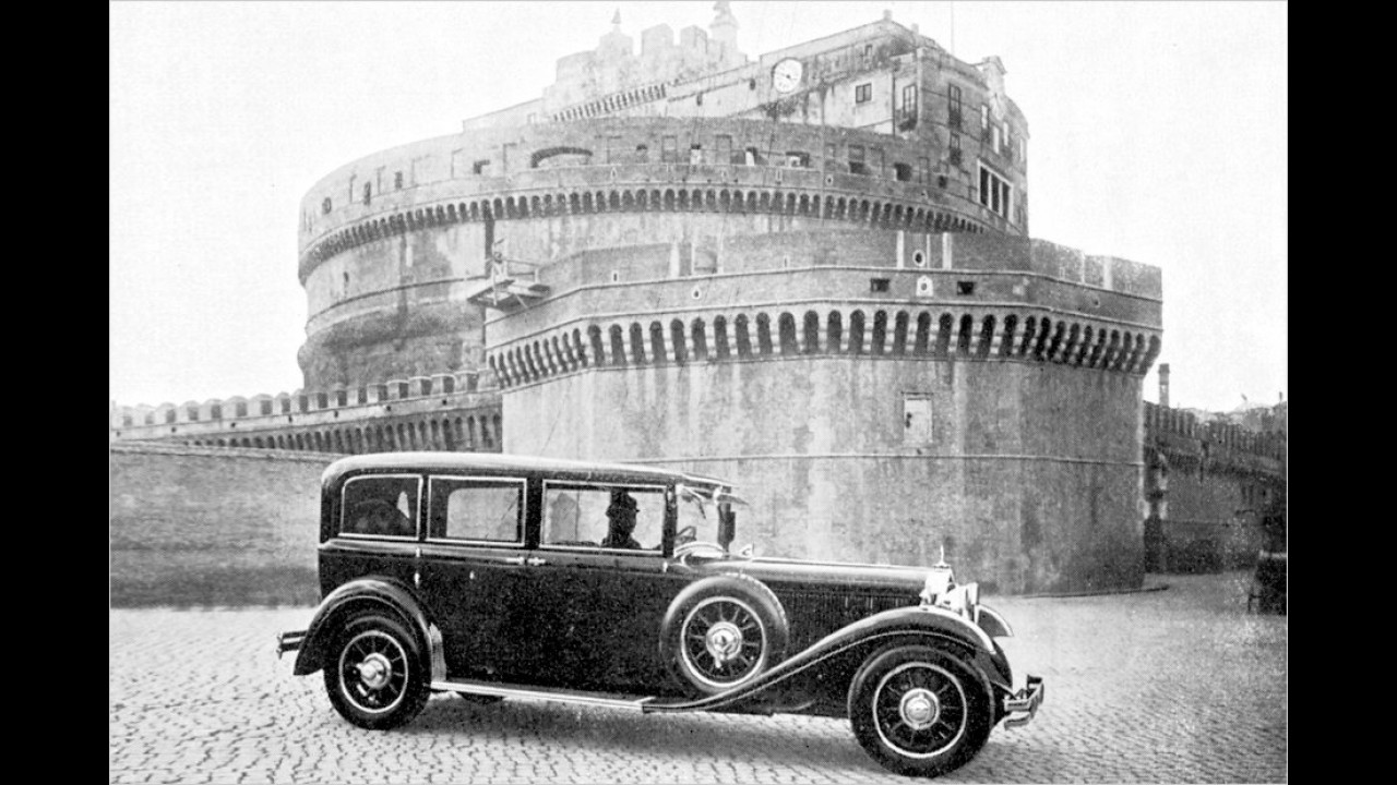Mercedes Nürburg 460 (1930)