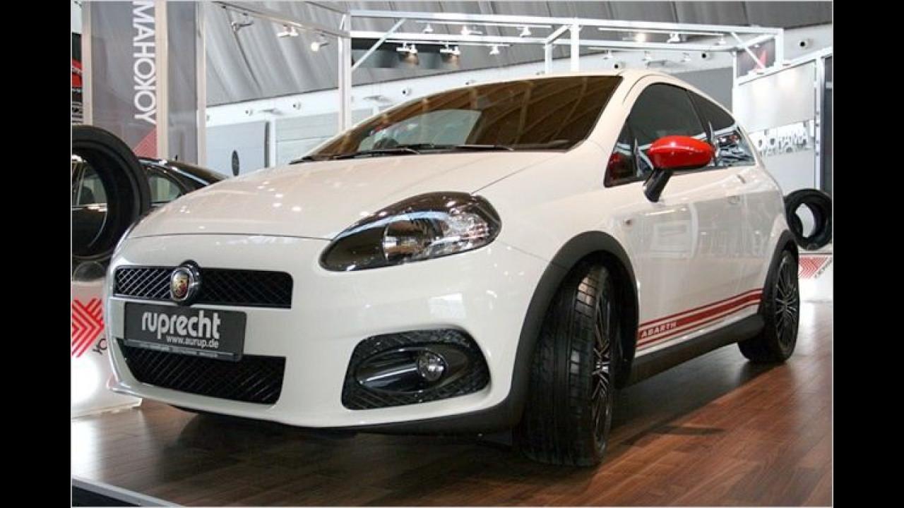 Fiats Performance-Marke Abarth stellt den aufgepimpten Grande Punto vor
