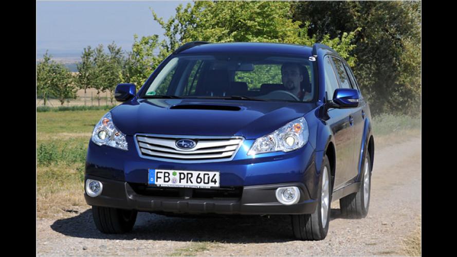 Multitalent mit Allrad: Der neue Subaru Outback im Test