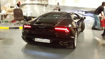 Lamborghini Huracan launch at Abu Dhabi showroom