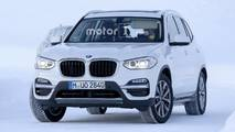 2019 BMW iX3 spy photos