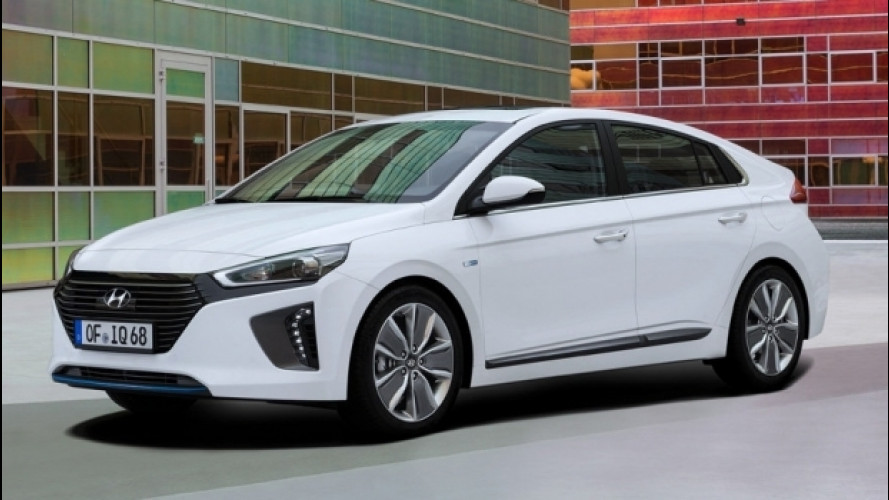 Hyundai Ioniq arriva in Italia, ecco i prezzi