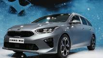 Kia Ceed Sportswagon at the 2018 Geneva Motor Show