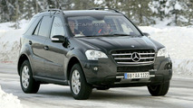 Facelifted M-Class caught cold weather testing