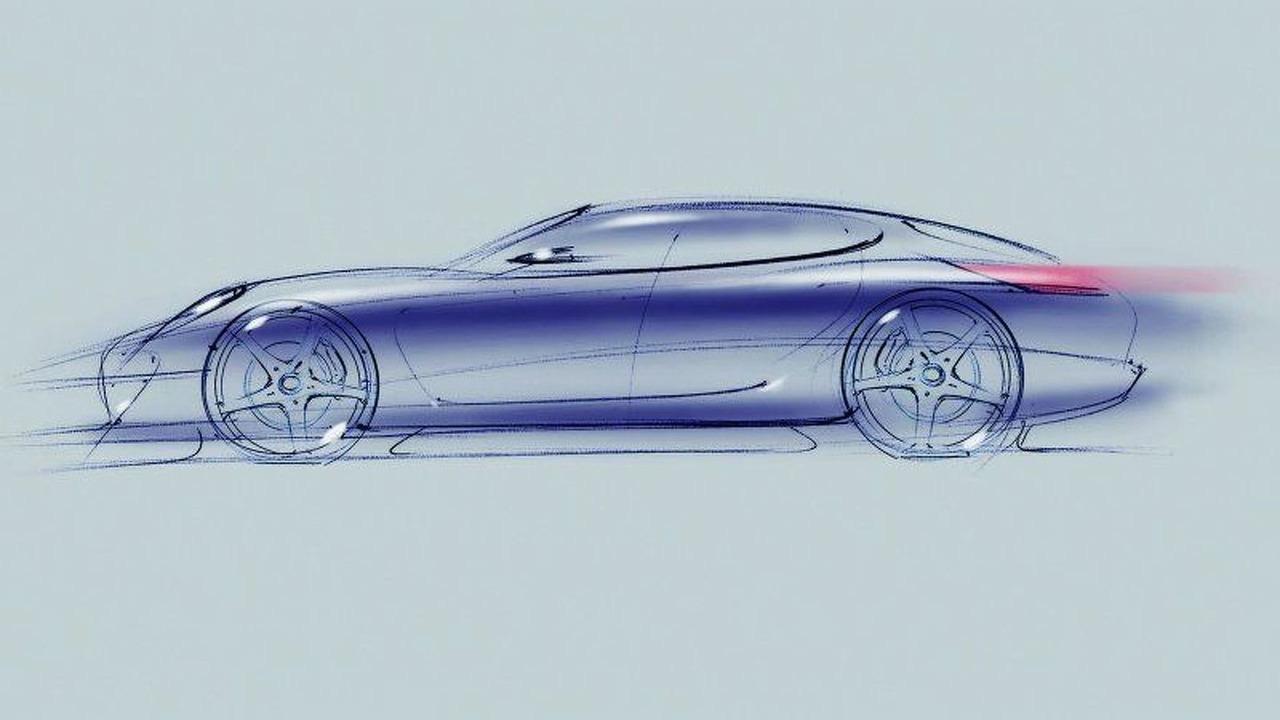 Porsche Panamera sketch