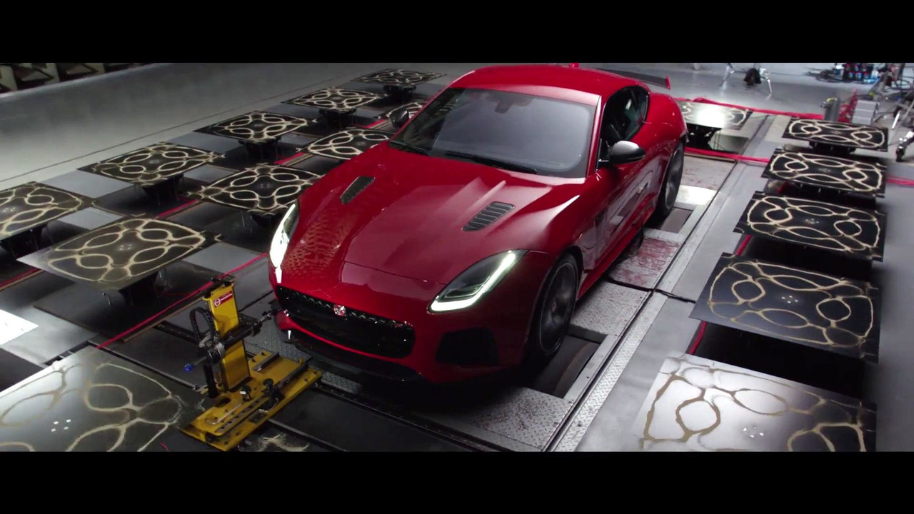Jaguar F-Type SVR simatik deney