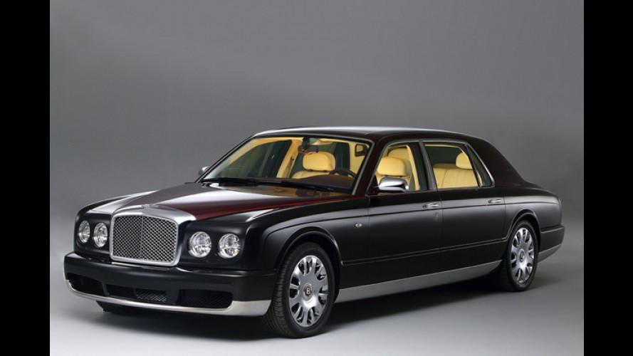 Pimp my Bentley: Arnage mit mehr Radstand und viel Luxus