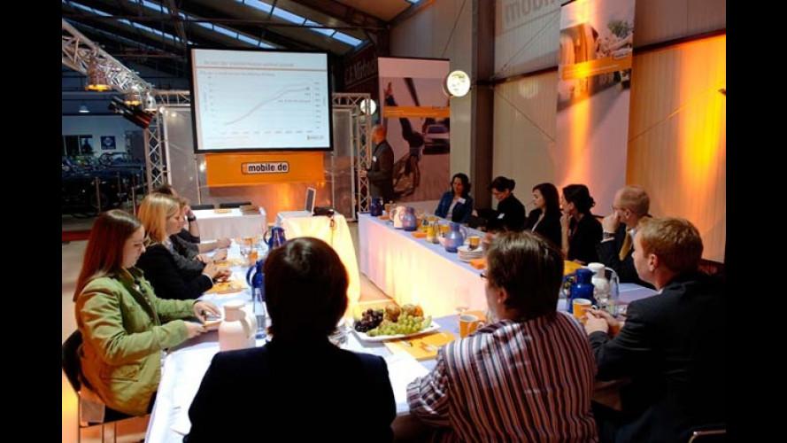 Round Table von mobile.de zum Thema ,Auto und Frauen