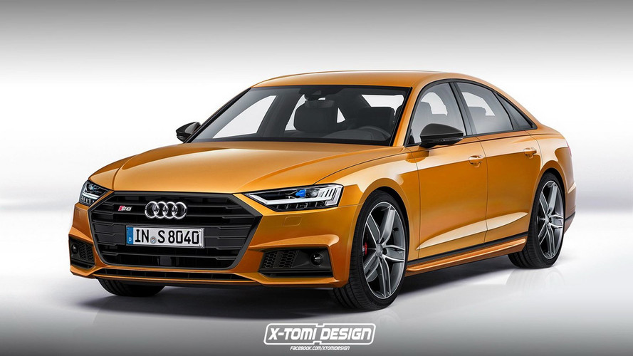 Audi S8 2018 render: así podría ser el Audi A8 más deportivo