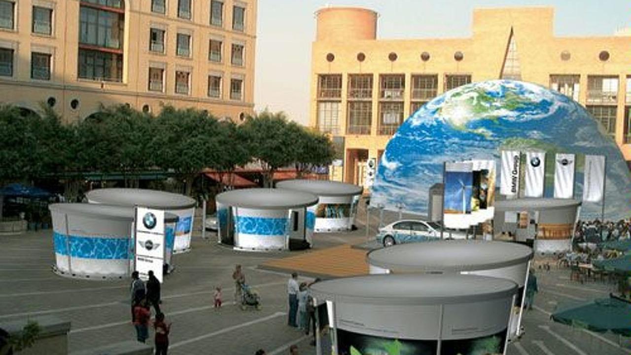 BMW at World Summit in Johannesburg