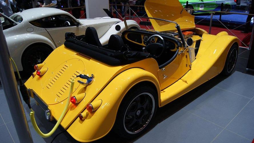 Morgan Electric Plus E concept revealed
