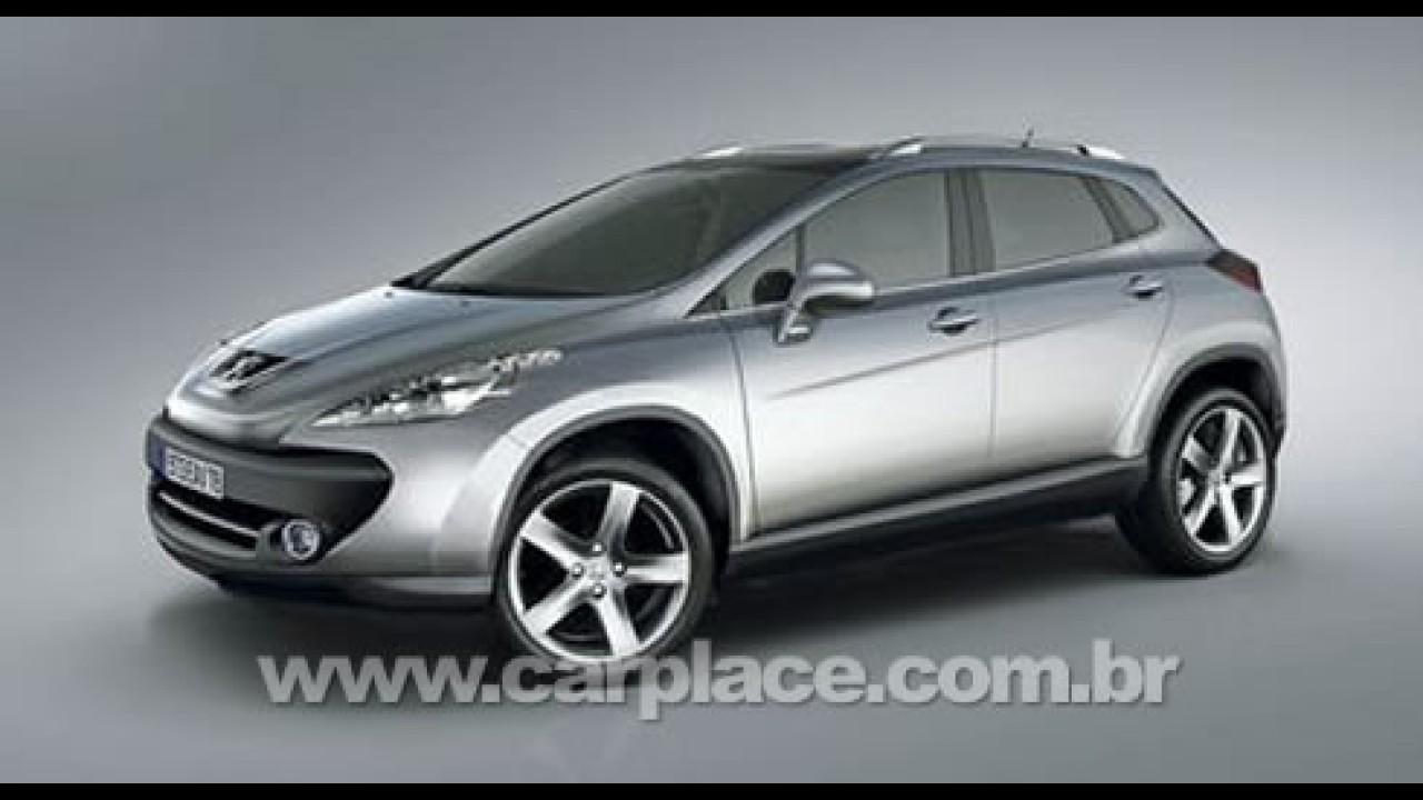 Peugeot 3008 - O possível SUV derivado do Peugeot 308