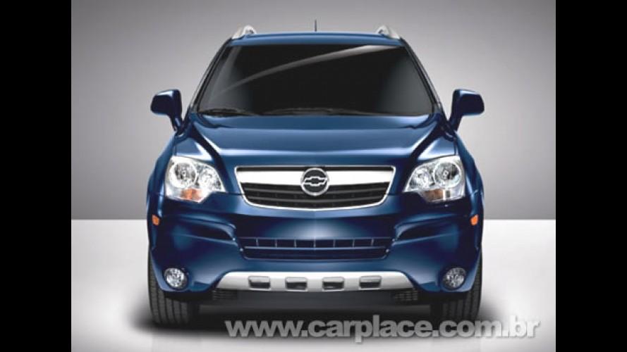 Chevrolet confirma para agosto o lançamento do utilitário Captiva Sport