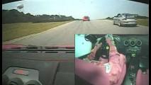 VÍDEO: Entusiastas mostram o que é possível fazer ao volante de uma Ferrari F430