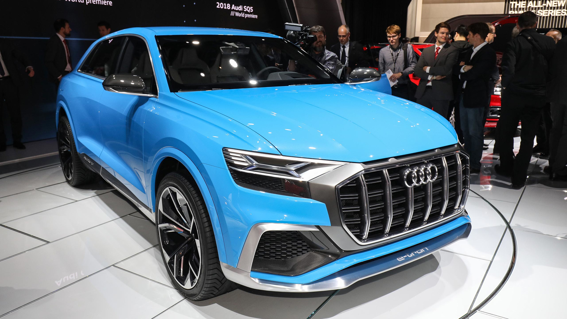 Audi Q8 concept previews future flagship coupe-SUV product 2017-01-09 14:01: ...