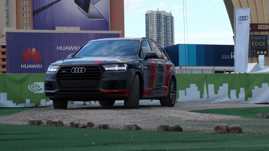 Audi, Nvidia reveal Q7 self-driving AI concept at CES