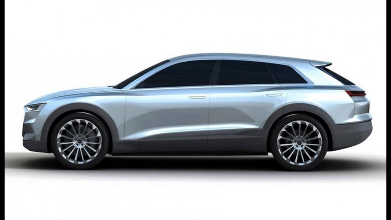 Audi Q6: imagens do SUV elétrico vazam antes da estreia