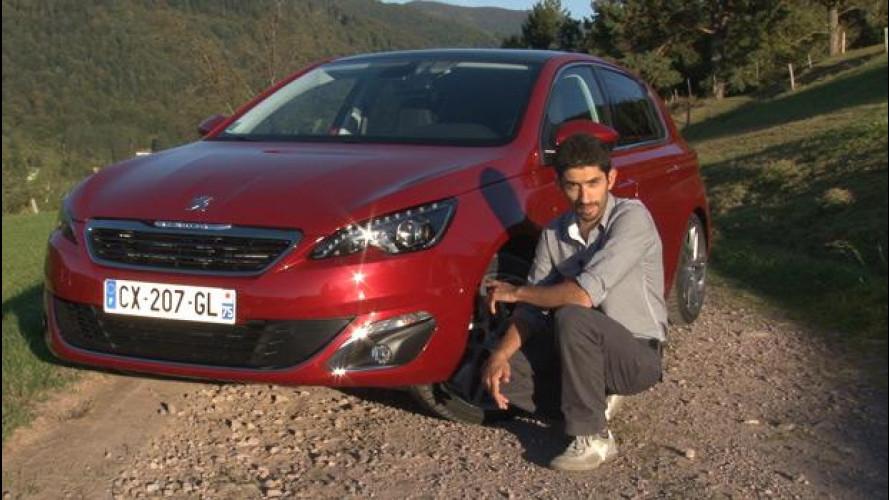 Nuova Peugeot 308 1.6 HDi 115 CV, prova su strada [VIDEO]