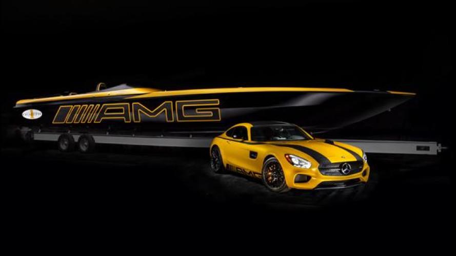 La Mercedes-AMG GT S è anche un super-motoscafo