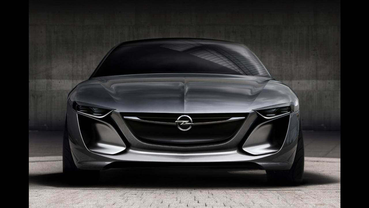 Opel Monza Concept, le prime foto