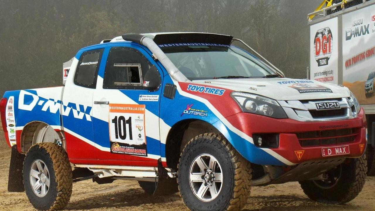Isuzu D-max for 2013 Dakar Rally
