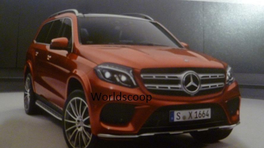 Mercedes-Benz GLS AMG Line official image emerges