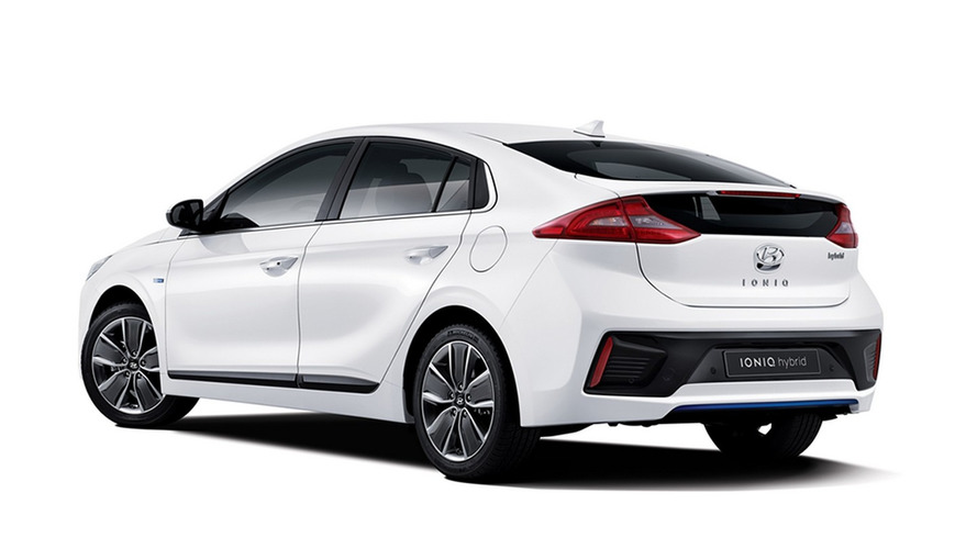 Hyundai drops first official pics of Prius-rivaling IONIQ