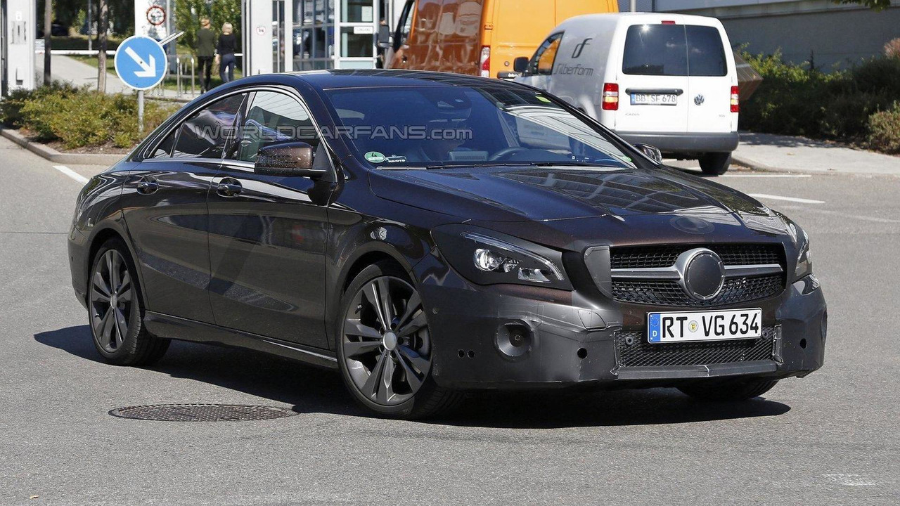 mercedes cla cla shooting brake facelift spied. Black Bedroom Furniture Sets. Home Design Ideas