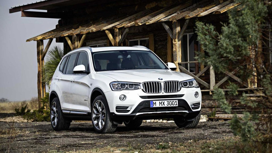 2015 BMW X3 unveiled with revised styling & new diesel engines