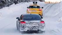 2019 Audi TT Coupe Spy Photo