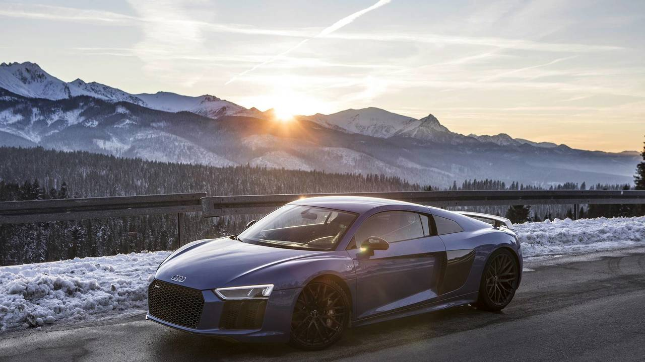 Audi R8 Winter Photo Session Motor1 Com Photos