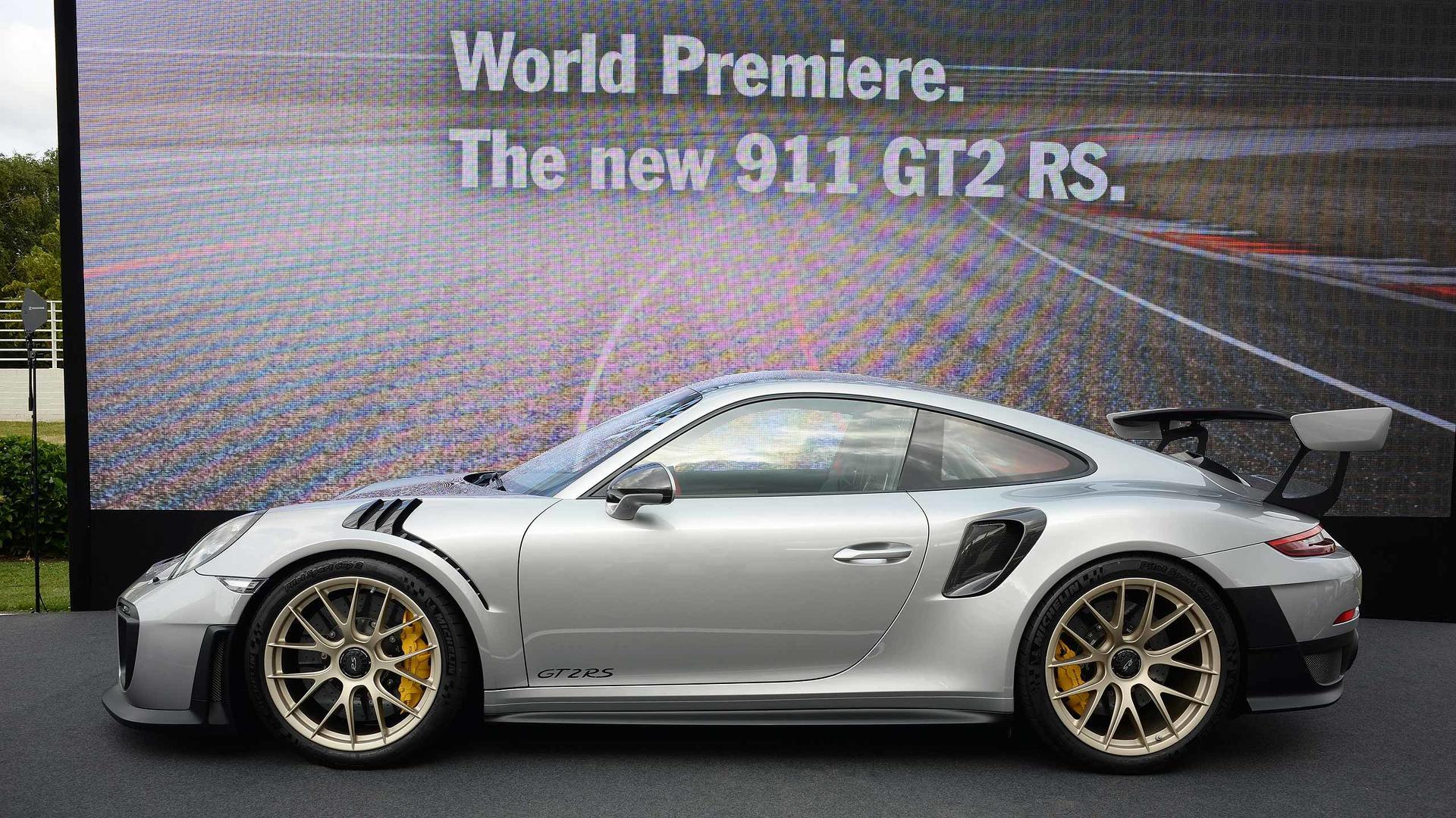2018-porsche-911-gt2-rs-at-2017-goodwood-festival-of-speed Gorgeous Porsche 911 Gt2 Rs Essai Cars Trend