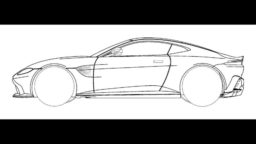 Aston Martin Vantage Design Sketch