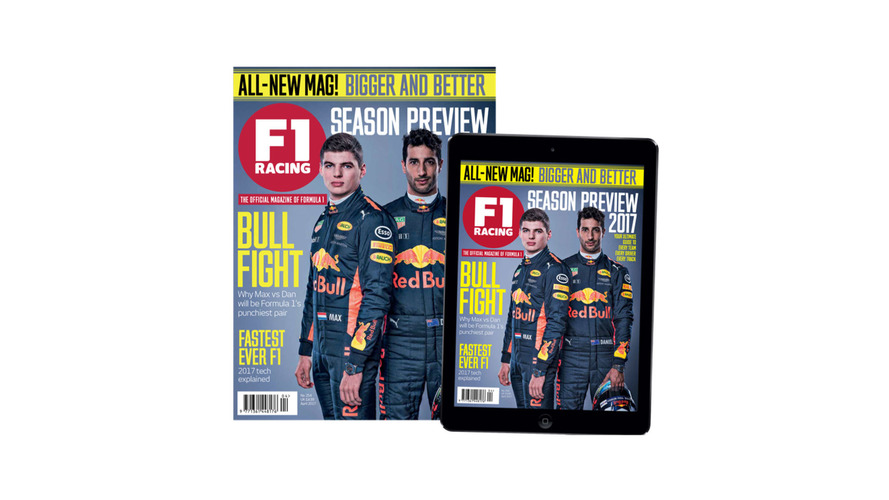 Motorsport Network actualiza la revista F1 Racing con un nuevo look