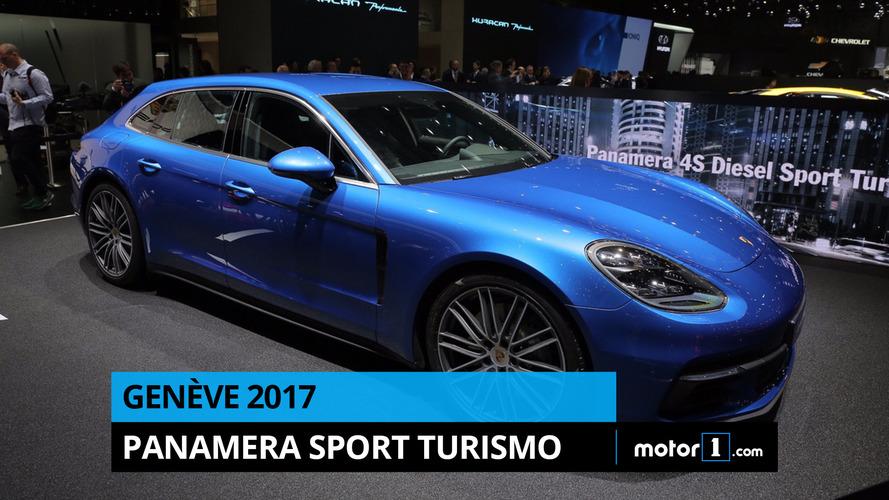 VIDÉO - La Porsche Panamera Sport Turismo en direct de Genève !