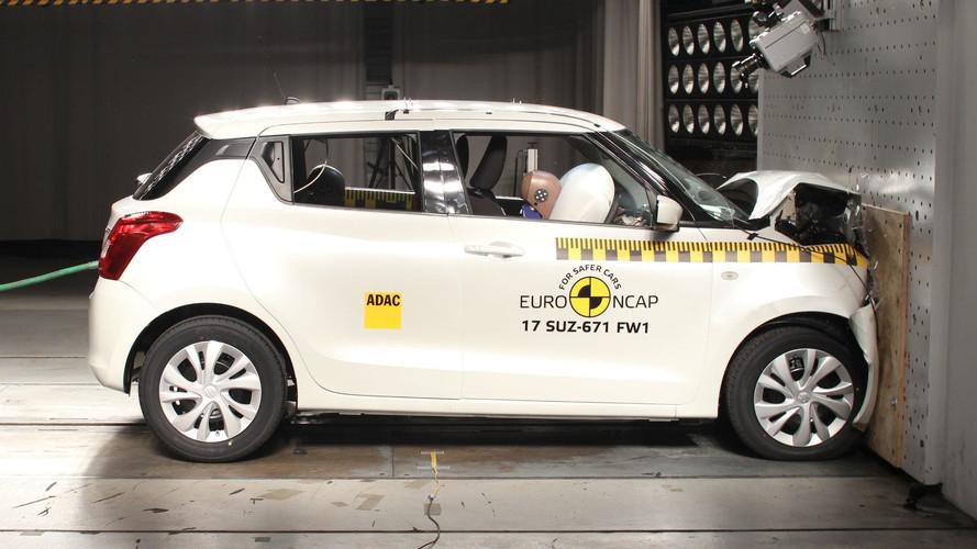 Crash-test - Trois étoiles pour la nouvelle Suzuki Swift 2017
