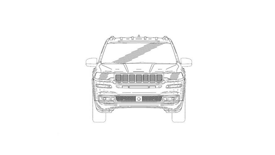 Jeep Grand Wagoneer - Imagens de patente