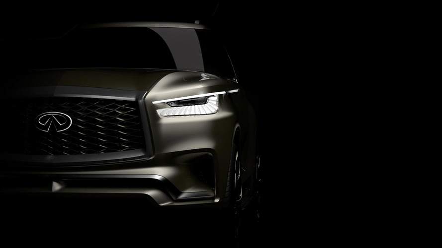 Infiniti QX80 Monograph Is Big, Mysterious Reveal At New York Auto Show