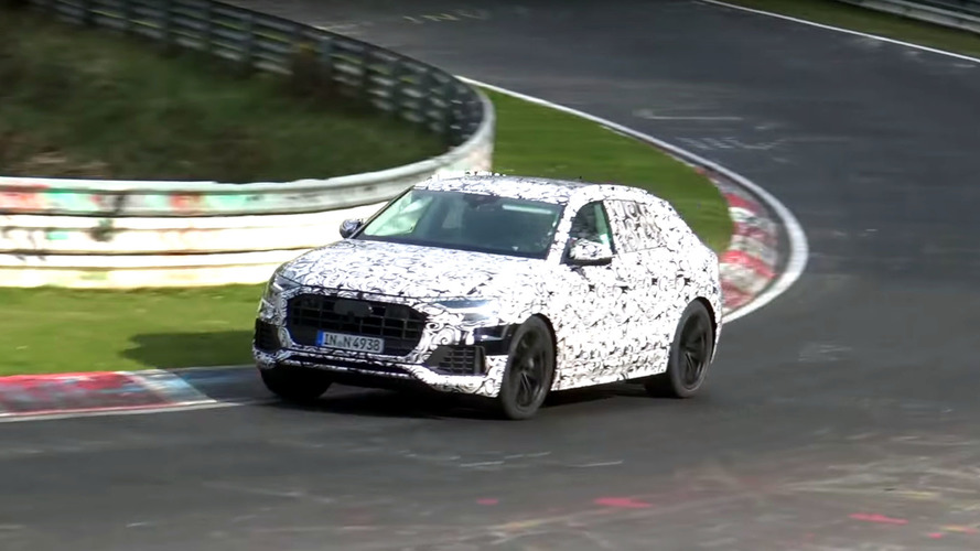Watch The Audi Q8 Coupe-SUV Testing At Nürburgring