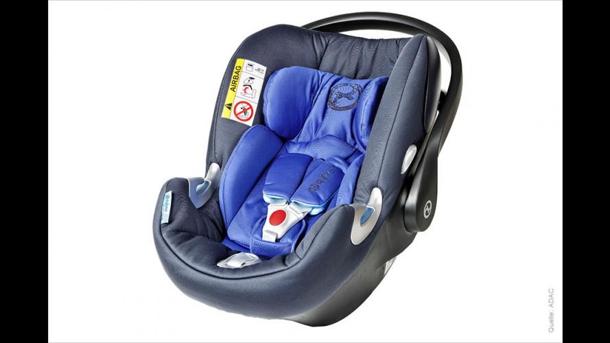 16 Kindersitze im ADAC-Test