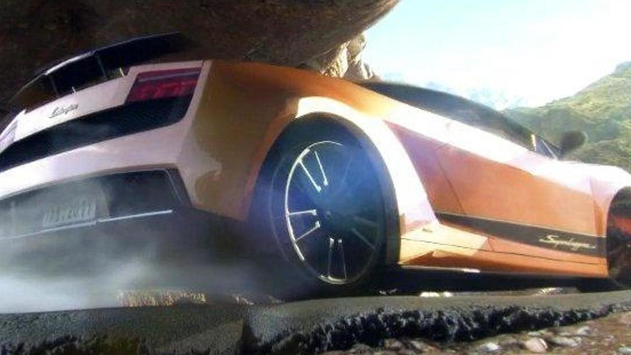 Lamborghini Gallardo Superleggera 3D animation short film screenshot, 670, 12.011.2011