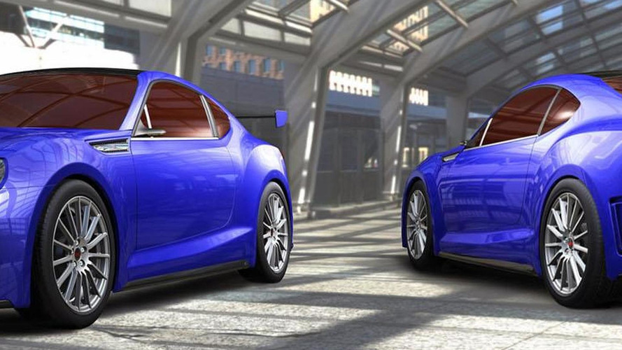 Subaru BRZ STI concept debuts in L.A. [video added]
