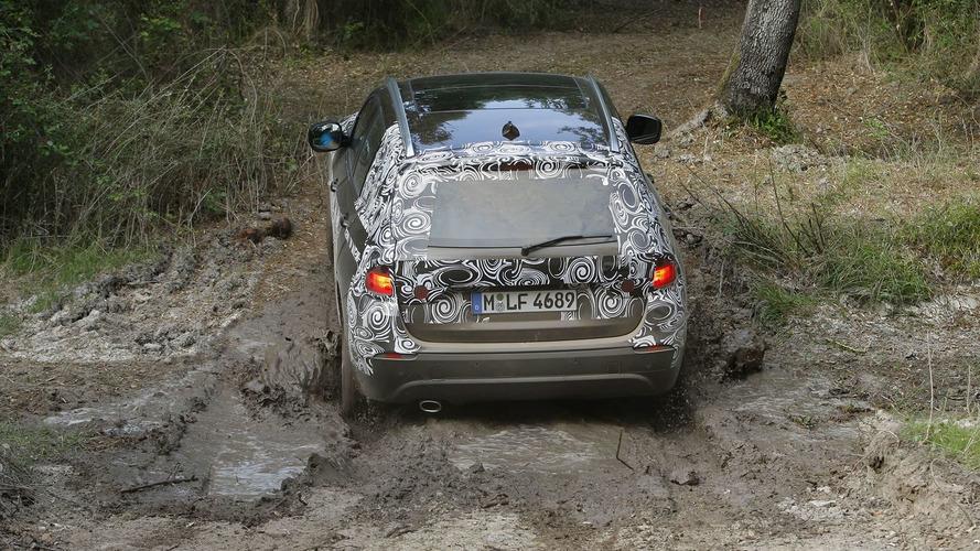Latest BMW X1 Prototype Video in Mallorca