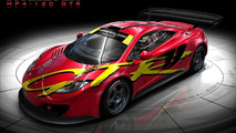 McLaren MP4-12C with Chassis 10R livery artist rendering - 920
