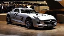 Mercedes SLS AMG F1 Safety Car at Genenva Motor Show