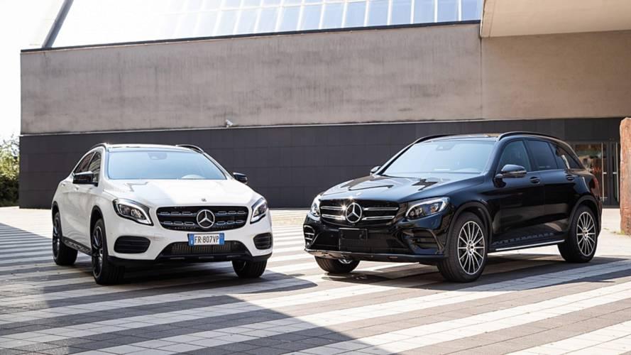 Mercedes Night Edition, look AMG e più tecnologia