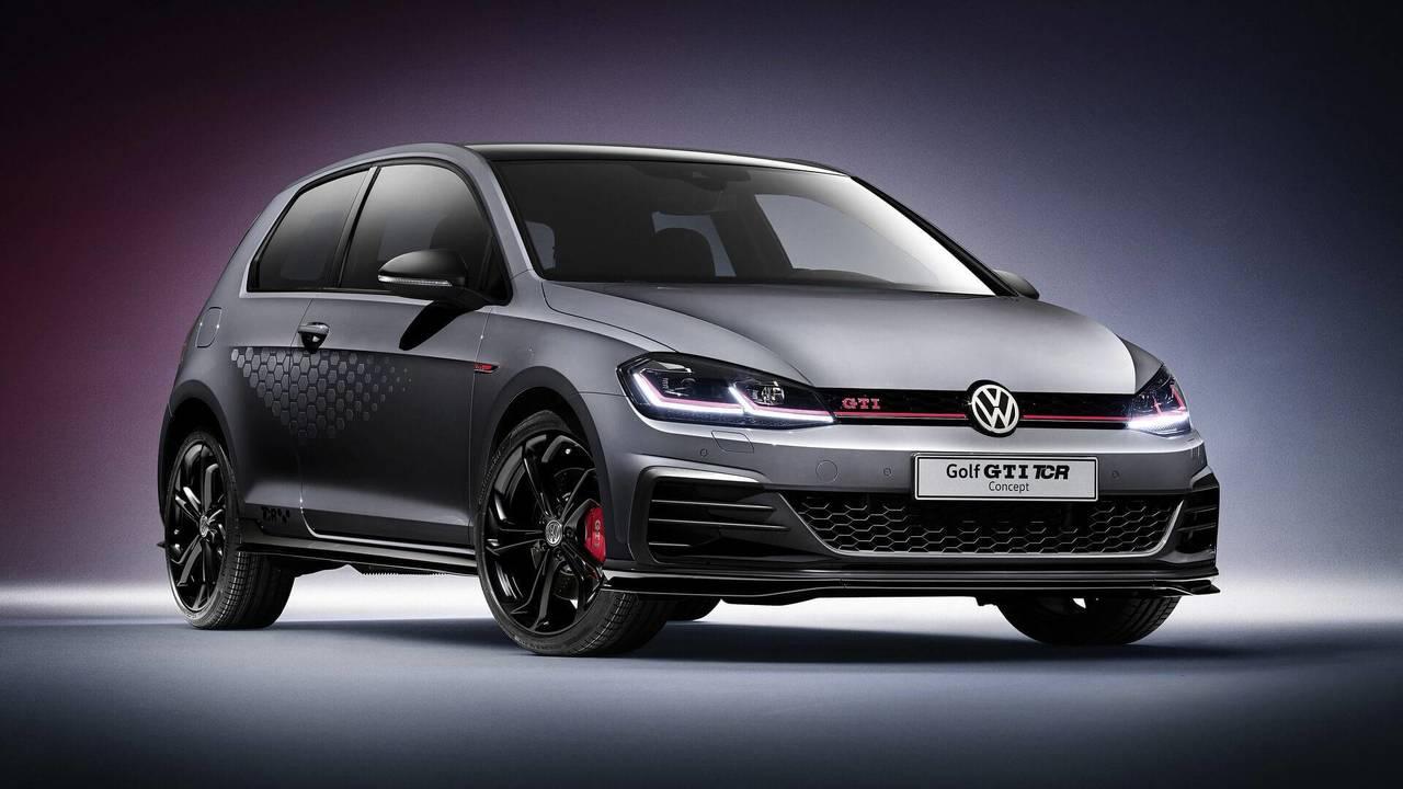 2018 VW Golf GTI TCR Konsepti