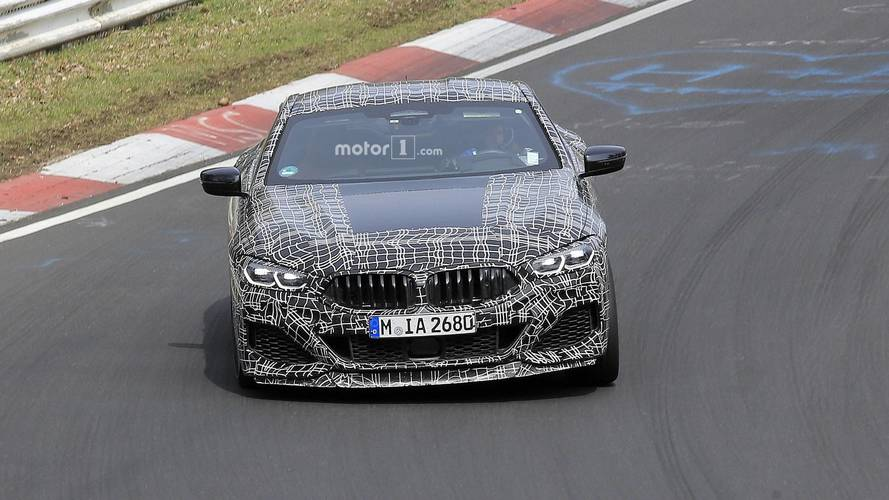 BMW 8 Series Coupe, Convertible spy photos from the Nurburgring