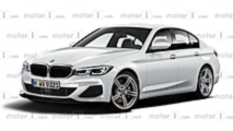 BMW Série 3 en illustration